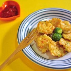 Món chả mực được chế biến rất thơm ngon