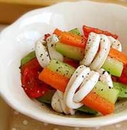 Món salad cuộn rau ngon hấp dấn